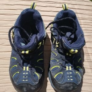 MERRELL Select Grip. Blue and yellow. Tennis shoes
